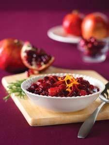 http://deliciousliving.com/recipes/cranberry-pomegranate-relish