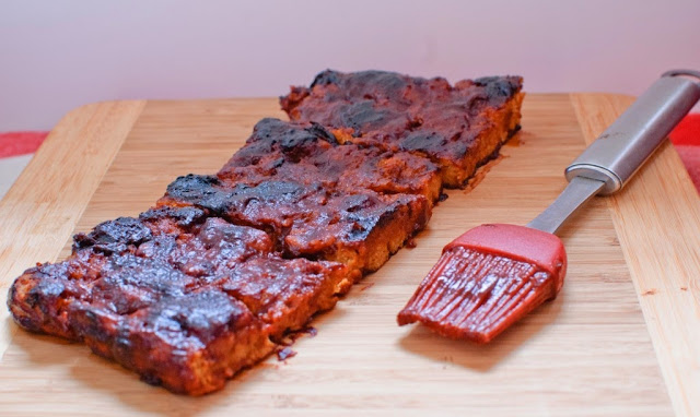 http://www.baked-in.com/2014/06/30/vegan-barbecue-ribs/