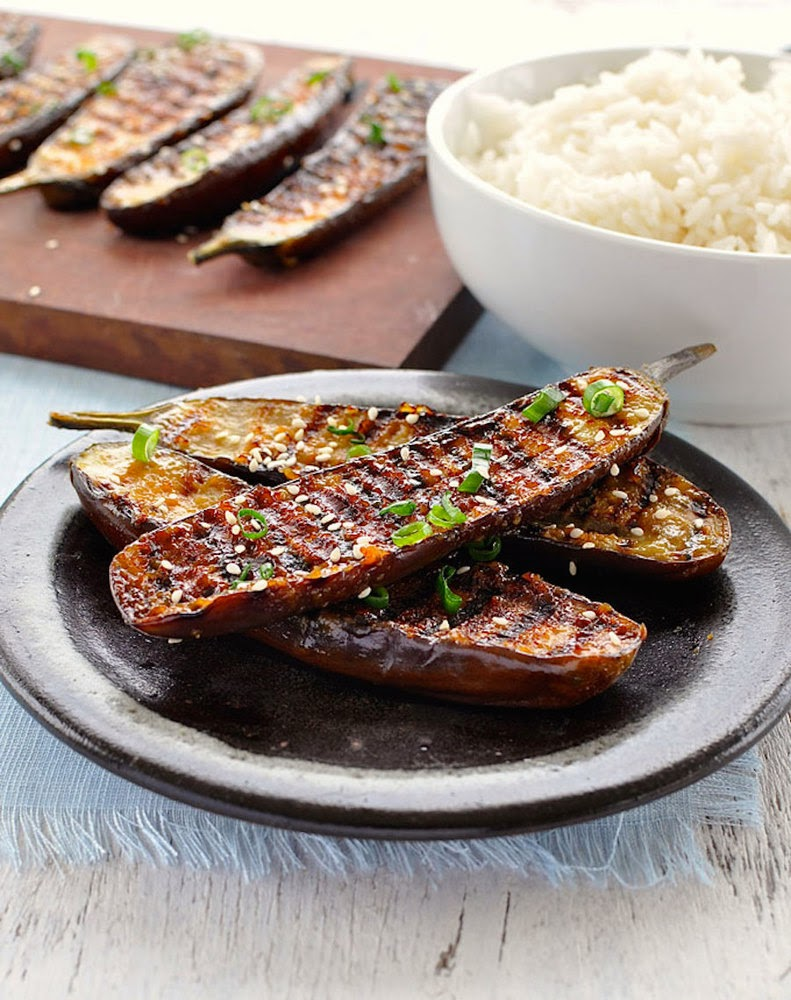 http://www.recipetineats.com/grilled-miso-glazed-japanese-eggplant/