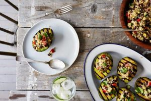 https://food52.com/recipes/36747-grilled-avocado-halves-with-cumin-spiced-quinoa-and-black-bean-salad