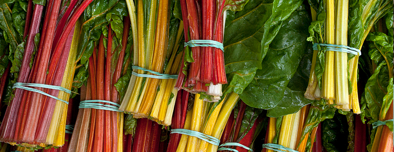 Summer Produce Guide Chard